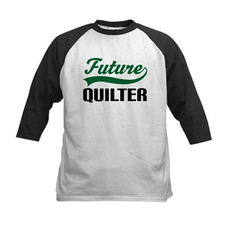 Future Quilter Kids Baseball Jersey