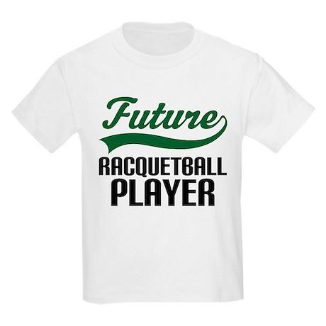 Future Racquetball Player Kids Light T-Shirt