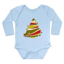 Festive Christmas Tree Body Suit