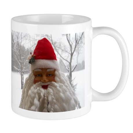 Santa In The Snow Mug