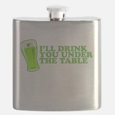 Ill Drink You Under The Table St Patricks Day Flas
