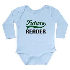 Future Reader Long Sleeve Infant Bodysuit
