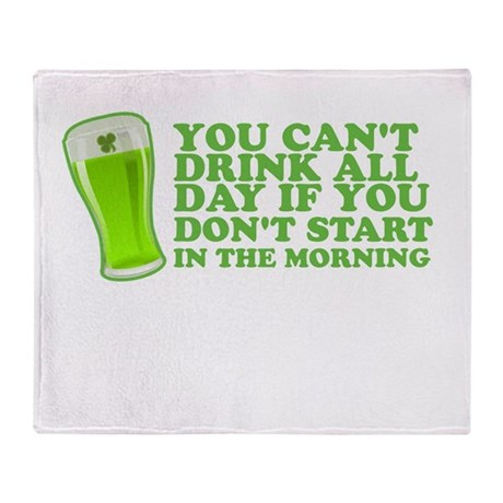 You Cant Drink All Day St Patricks Day Shirts Sta