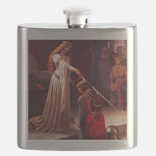 Knighting the Knight Flask