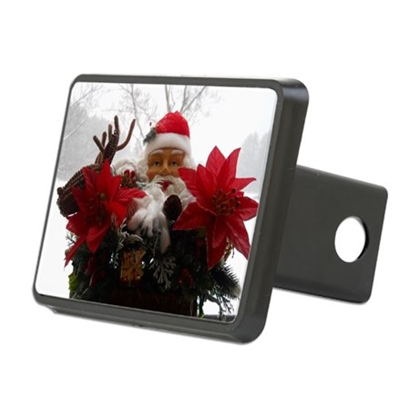 Santa Snow Display Hitch Cover