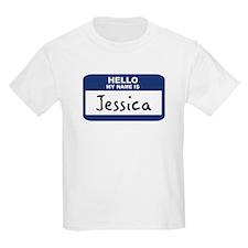 Hello: Jessica Kids T-Shirt
