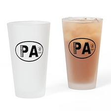 Pennsylvania Liberty Bell Drinking Glass