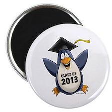 "2013 Graduate Penguin 2.25"" Magnet (10 pack)"