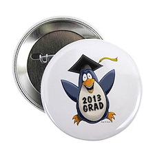 """2013 Graduate Penguin 2.25"""" Button"""