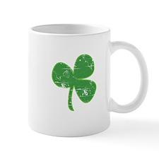 Distressed Vintage Clover St Patricks Day Mug