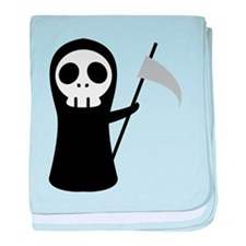 Grim Reaper baby blanket