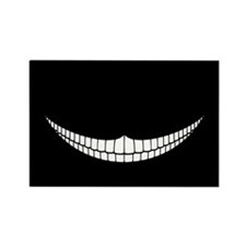 Cheshire Grin Rectangle Magnet (100 pack)