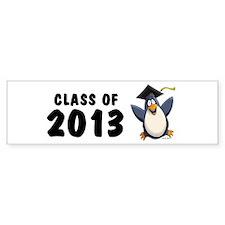 2013 Graduate Penguin Bumper Bumper Sticker