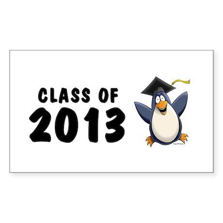 2013 Graduate Penguin Sticker