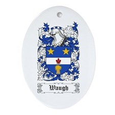 Waugh Ornament (Oval)