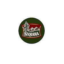 Sequoia Mountain Scene Mini Button