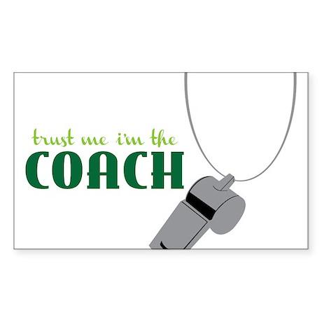Coach Sticker