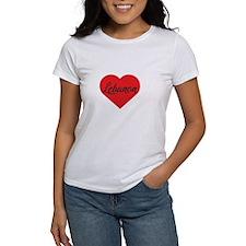 Watt Large Heart Pet Tag
