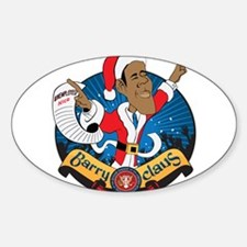 Barry Claus Is Coming To Town Decal