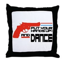 Put your hands up Throw Pillow