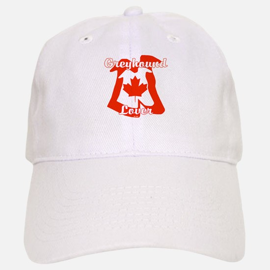 CANADIAN GREYHOUND LOVER Baseball Baseball Cap