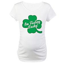 Feeling Lucky St. Patricks Day Clover Shirt