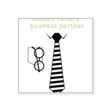Daddy's Future Business Partner Sticker