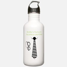 Daddy's Future Business Partner Water Bottle