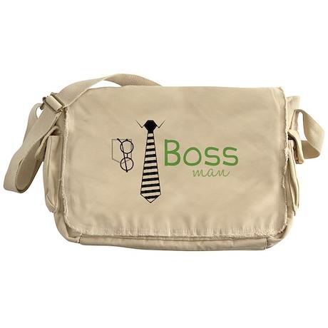 Boss Man Messenger Bag