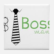 Boss Man Tile Coaster