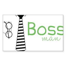 Boss Man Decal