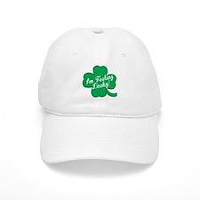 Feeling Lucky St. Patricks Day Clover Baseball Baseball Cap