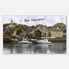 New Hampshire! ~ Rectangle Decal