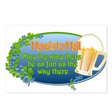 Here's To Hell! Postcards (Package of 8)