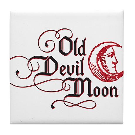 Old Devil Moon Tile Coaster