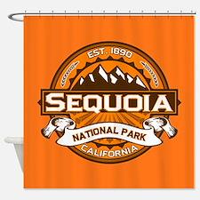 Sequoia Pumpkin Shower Curtain
