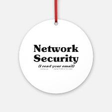 Network Sec. Ornament (Round)