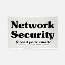 Network Sec. Rectangle Magnet