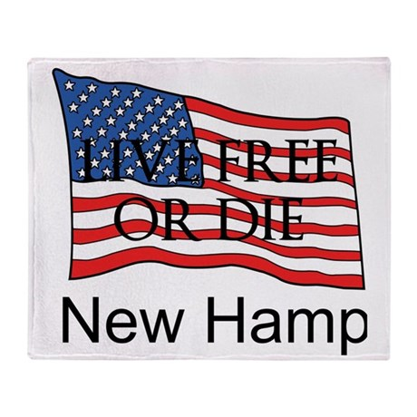 New Hampshire Throw Blanket