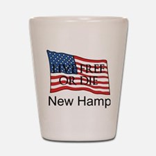 New Hampshire Shot Glass