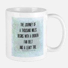 Journey of a Thousand Miles (Funny Zen) Mug