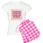 Nobody Cares (Funny Zen) Pajamas