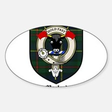 Macleod Clan Crest Tartan Rectangle Decal