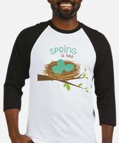 Spring is Here Baseball Jersey