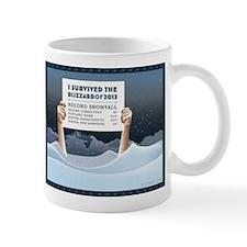 Blizzard of 2013 Survivor Mug