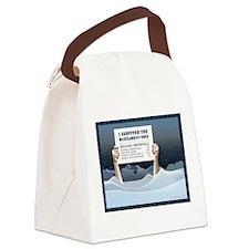 Blizzard of 2013 Survivor Canvas Lunch Bag