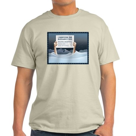 Blizzard of 2013 Survivor T-Shirt