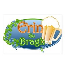Erin Go Braugh Postcards (Package of 8)