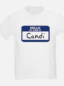 Hello: Candi Kids T-Shirt