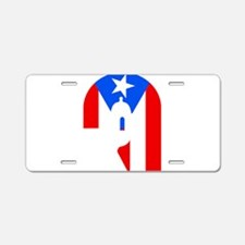 Cute Ponce puerto rico Aluminum License Plate